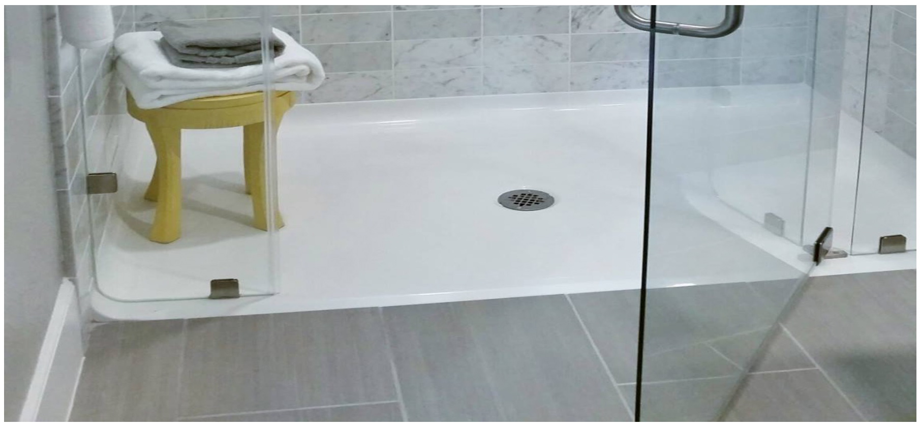 Barrier Free Shower Pans for Residential Applications